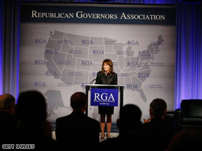 Alaska Gov. Sarah Palin is in Florida Thursday for annual conference of the Republican Governors Association.