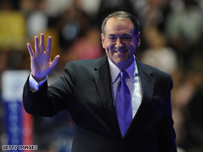 Saltsman was Mike Huckabee's campaign manager.