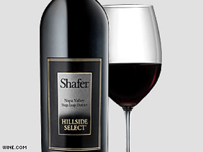 "Shafer Cabernet ""Hillside Select"" 2003 can go for as much as $500 a bottle."