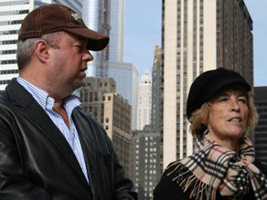 Richard Degneau & Linda Giannotti (Josh Rubin/CNN)