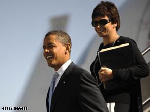 Jarrett is a longtime adviser to Obama.