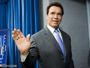 Schwarzenegger likes the idea of Hillary Clinton as Secretary of State.
