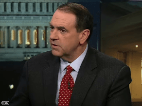 Huckabee appeared on The Situation Room Monday.