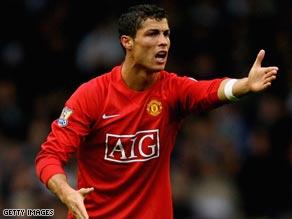 Cristiano Ronaldo has been named European Footballer of the Year.