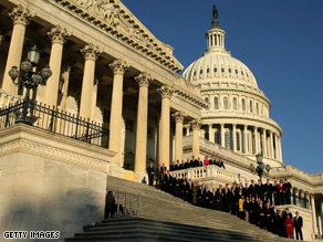 Four congressional races have yet to be decided.