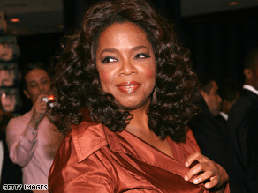 Oprah says she wants Palin on her show.