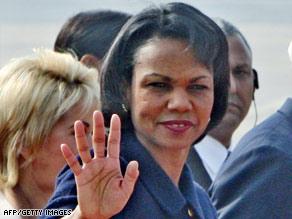 Secretary of State Condoleezza Rice says Iraq will be viewed as 'strategic achievement.'