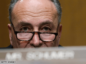 Sen. Chuck Schumer said on Saturday that 'It's clear that the Libyan government's love affair with terrorism hasn't ended yet.'
