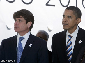 Internal report states no inappropriate contacts were made between Obama aides and Blagojevich.