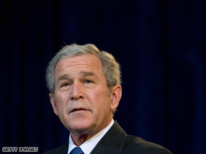 Three-fourths of those polled are glad to see Bush's presidency end.