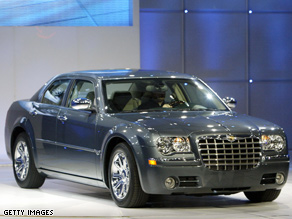A Chrysler 300C, like the one Obama drove before his campaign.