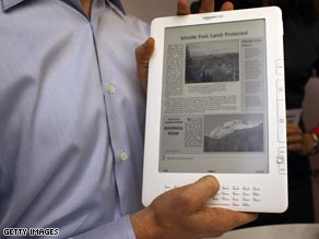 Amazon's new Kindle will offer several U.S. newspapers to subscribers.