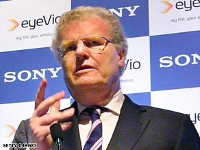 Sony Chairman and CEO Howard Stringer took over direct supervision of the electronics division.