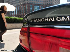 China is one bright spot in GM's dismal fortunes, but U.S. consumer activists have raised concerns.