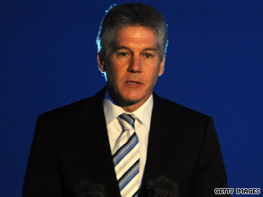 Australia's Foreign Minister Stephen Smith expressed his surprise at China's actions.