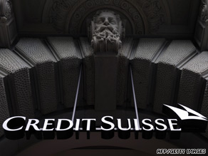 Credit Suisse said it would cut 5,300 jobs last year after a net loss of $2.5B in October and November.