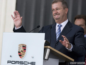 Former Porsche CEO Wendelin Wiedeking is being investigated by German prosecutors.