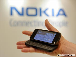 Nokia's leading N97 smartphone has been criticized by some analysts as a poor alternative to Apple's iPhone.