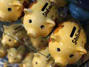 The piggy bank business is one industry that has seen business boom in the wake of the financial crisis.