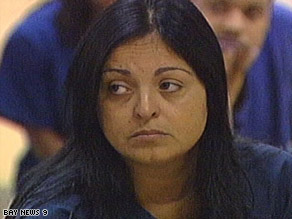 Amalia Tabata Pereira is accused of kidnapping, false imprisonment and child abuse.