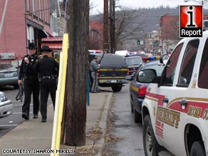 The shootings and hostage situation took place at the American Civic Association in Binghamton, New York.