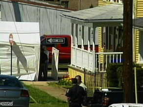 Five people, including three young children, were found dead in this house in Middletown, Maryland.