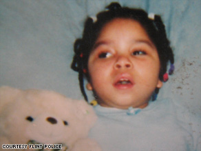 Shylea Thomas, 9, of Flint, Michigan, was quadriplegic and used a feeding tube.