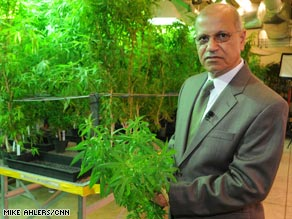 Mahmoud ElSohly oversees the nation's largest legal marijuana garden at the University of Mississippi.
