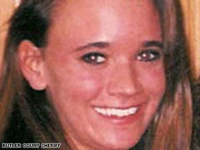 """Alana """"Laney"""" Gwinner, 23, disappeared after bowling with friends in December 1997."""
