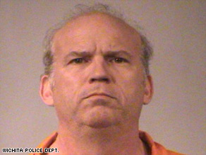 Scott Roeder, 51, is being held on a first-degree murder charge and two counts of aggravated assault.