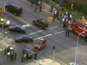 Tuesday's shooting occurred off school property, a Detroit Public Schools spokesman said.