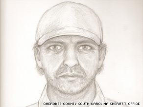 Police say the murder scenes are linked and they are searching for a man in this sketch.
