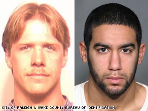 Daniel Patrick Boyd, left, and Mohammad Omar Aly Hassan are two of the seven men charged in a N.C. terrorism case.