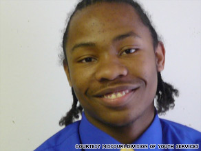 Serving time in Missouri's juvenile justice system set Terrence Barkley on the path to college.