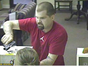 The FBI is searching for this suspect, who they say has robbed at least 10 banks throughout the South.