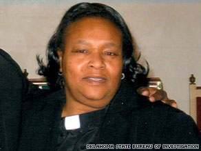Carol Daniels, a 61-year-old pastor, was found dead Sunday at a church in Anadarko, Oklahoma.