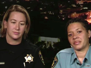 Allison Jacobs, left, and Lisa Campbell of the UC Berkeley Police Department were wary of Phillip Garrido.