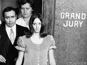 Susan Atkins, shown here after her indictment in the Manson murders, has a parole hearing Wednesday.