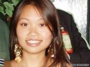 The body of Annie Le, 24, was found in the wall of a Yale University laboratory building Sunday.