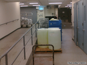 Authorities say they found Le's body in the basement wall of a Yale medical research building.
