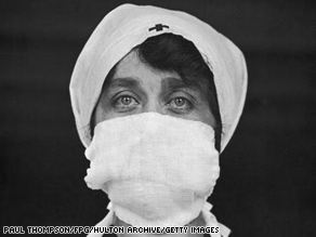 The Spanish flu epidemic of 1918 sickened an estimated third of the world's population.