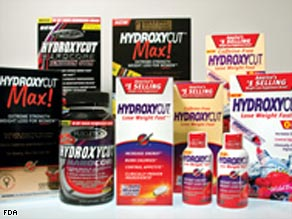 The FDA has received 23 reports of serious liver injuries, including a death, linked to Hydroxycut products.