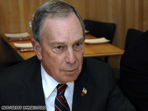 Michael Bloomberg has set a record by spending more personal funds than anyone in U.S. history on bids for public office.