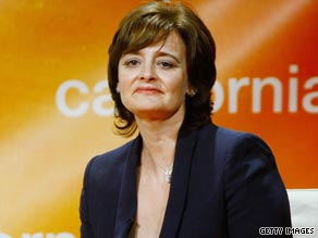 Cherie Blair, wife of former British premier Tony Blair, is reportedly suffering from swine flu.