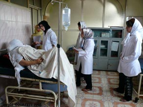 Having been denied healthcare and education under the Taliban, Afghan women are now training as midwives