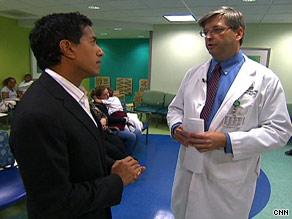 Dr. Sanjay Gupta talks to Dr. Jim Fortenberry, pediatrician in chief at Children's Healthcare of Atlanta.