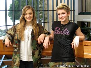 Moranda Hern and Kaylei Deakin started Sisterhood of the Traveling BDUs, or battle dress uniforms.