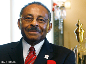Roland Burris told reporters in Washington on Wednesday his appointment has nothing to do with money.