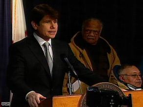 Ilinois Gov. Rod Blagojevich says his impeachment was politically driven.