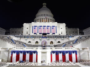 The Capitol will be the stage of a historic landmark in the history of the nation Tuesday.